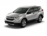 new Lunar Silver Metallic 2017 Honda CR-V LX with Gray Interior located in Waco